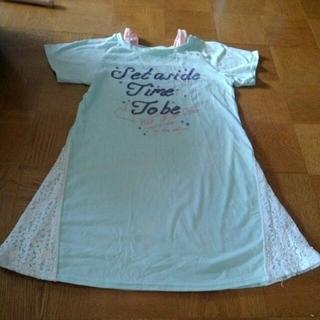 ガールズ Tシャツ ロング 半袖 150(Tシャツ/カットソー)