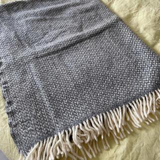 クリッパン(KLIPPAN)のKLIPPAN スローケット polkaグレー(毛布)