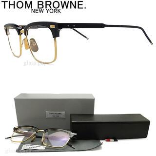 THOM BROWNE - THOM BROWNE トムブラウンメガネTB-711-C-NVY-GLD-52