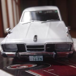 アオシマ(AOSHIMA)のアオシマ1/24プラモデル。日産グロリアホットロッド完成品♪旧車グラチャン改造車(模型/プラモデル)