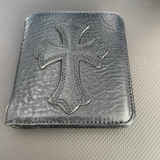 クロムハーツ(Chrome Hearts)のクロムハーツ ドクター ディジャコモ ライトレザー ウォレット 美品 正規(折り財布)