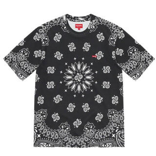 シュプリーム(Supreme)のSupreme Small Box Tee Black Bandana Lサイズ(Tシャツ/カットソー(半袖/袖なし))