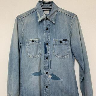 ブルーブルー(BLUE BLUE)のキムタク着 BLUE BLUE リメイクデニムシャツ タンガリー TMT ヒス(シャツ)
