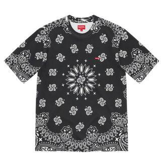 シュプリーム(Supreme)のSupreme Small Box Tee Black Bandana Mサイズ(Tシャツ/カットソー(半袖/袖なし))