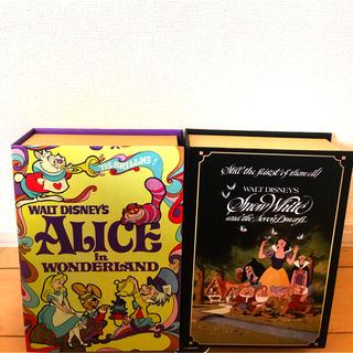 ディズニー(Disney)のアリス  白雪姫  ブック型ケース(その他)