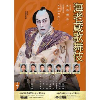海老蔵歌舞伎 南座 チケット(伝統芸能)