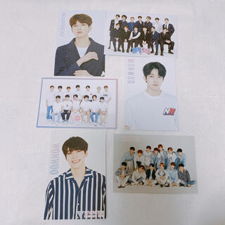 セブンティーン(SEVENTEEN)のseventeen セブチ  ポストカード セット ウォヌ(K-POP/アジア)