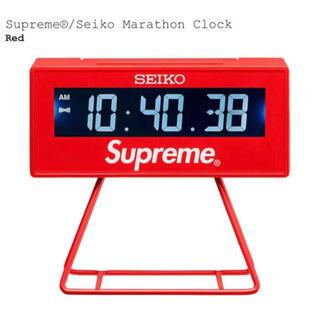 シュプリーム(Supreme)のSupreme® Seiko Marathon Clock(置時計)