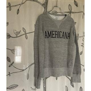 AMERICANA - Americana オーバーサイズ スウェット ロゴ