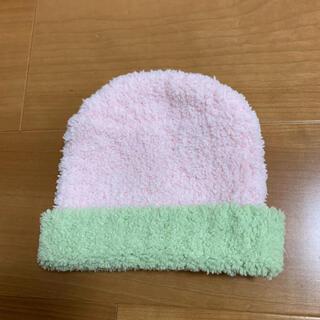 カシウエア(kashwere)の【未使用!】カシウェア ベビー用ニット帽子(帽子)