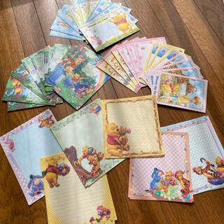 くまのプーさん - DISNEY くまのプーさん レターセット 便せん45枚 封筒36枚