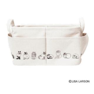 Lisa Larson - リサラーソン     外ポケット付き 収納ボックス