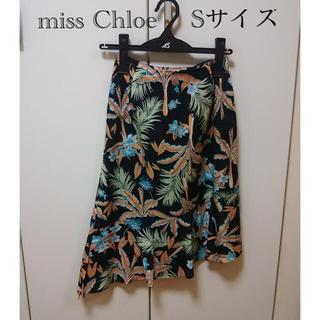 クロエ(Chloe)のmiss chloe (日本製) サイズ38(ひざ丈スカート)