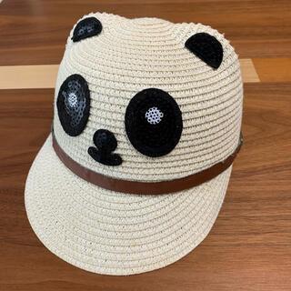 クレアーズ(claire's)の⭐️クレアーズ⭐️可愛いパンダさん ベビーストローハット 51(帽子)