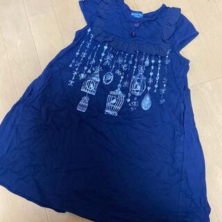 ANNA SUI mini - アナスイミニワンピース120美品