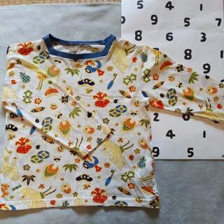 ソウソウ(SOU・SOU)の【SALE】SOU・SOUわらべぎM ひふじばん(Tシャツ/カットソー)