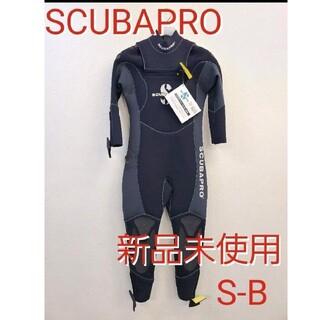 スキューバプロ(SCUBAPRO)の新品 スキューバプロ5mm ウェットスーツ フルスーツ SBスキューバダイビング(マリン/スイミング)