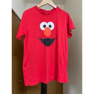 セサミストリート(SESAME STREET)のTシャツ エルモ 半袖 赤(Tシャツ(半袖/袖なし))