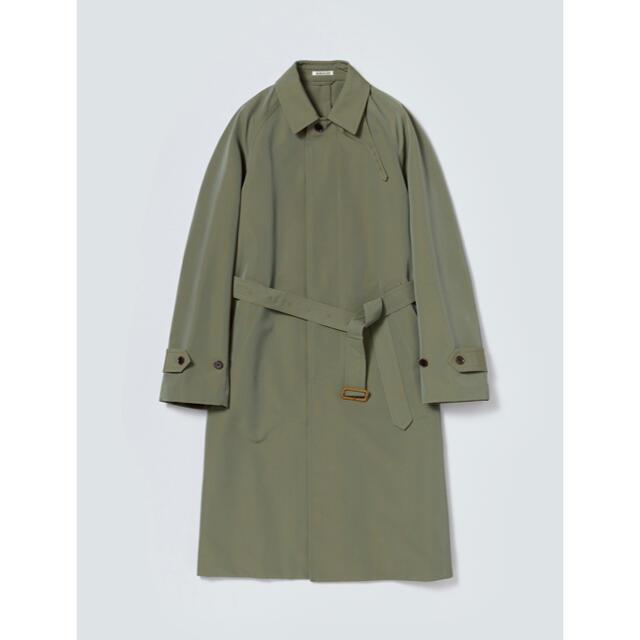 COMOLI(コモリ)のNicosさん専用 auralee wool max ステンカラーコート メンズのジャケット/アウター(ステンカラーコート)の商品写真