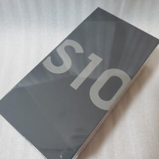 サムスン(SAMSUNG)のGalaxy S10 Prism Black 128 GB SIMフリー(スマートフォン本体)