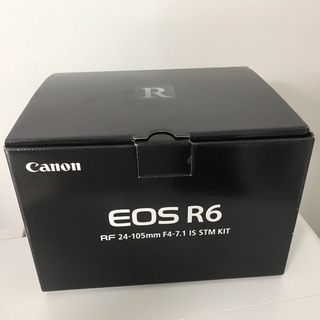 Canon - 【美品】EOS R6 RF24-105 IS STM レンズキット