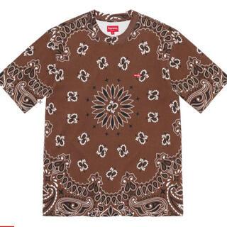 シュプリーム(Supreme)のSupreme Small Box Tee Brown Bandana Sサイズ(Tシャツ/カットソー(半袖/袖なし))