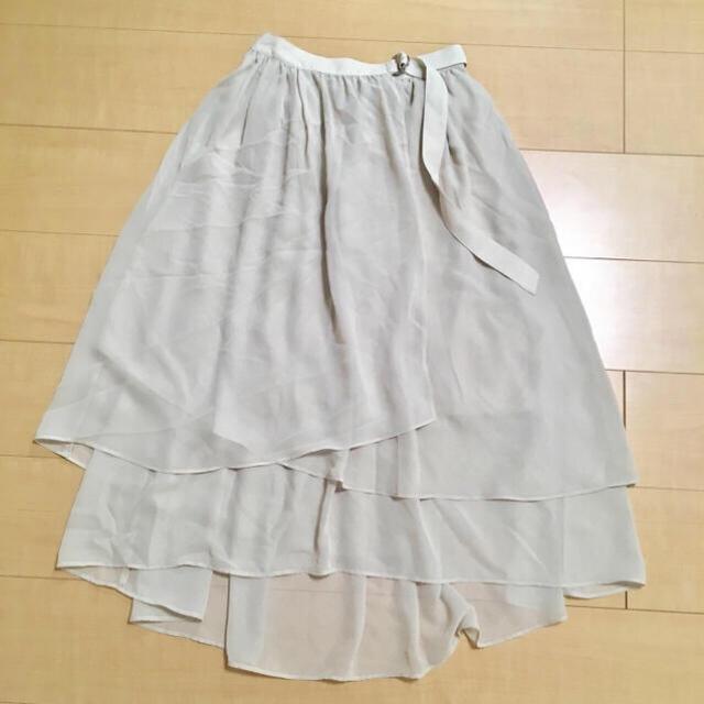 UNRELISH(アンレリッシュ)のアシメフルイドスカート レディースのスカート(ロングスカート)の商品写真
