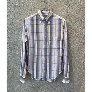 インディヴィジュアライズドシャツ(INDIVIDUALIZED SHIRTS)のINDIVIDUALIZED SHIRTS チェックボタンダウンSH USA製(シャツ/ブラウス(長袖/七分))