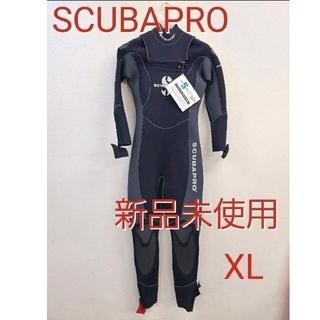 スキューバプロ(SCUBAPRO)の新品 スキューバプロ 5mm ウェットスーツ XLスキューバダイビングフルスーツ(マリン/スイミング)