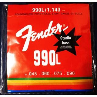 フェンダー(Fender)の送料無料★Fender★激安エレキベース弦★1~4弦3セット★ライトゲージ(弦)
