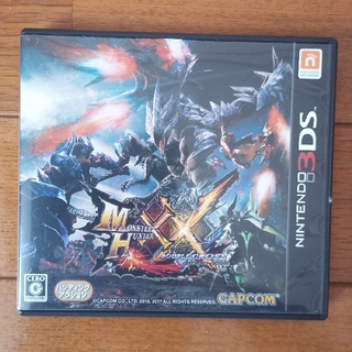 CAPCOM - モンスターハンターダブルクロス 3DS