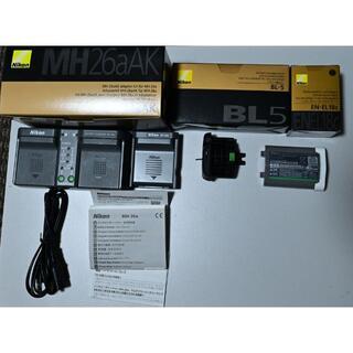 ニコン(Nikon)の800,D810,D850,D500のBG用充電器,EN-EL18C,カバー(その他)
