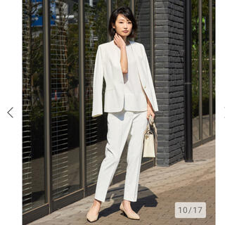 プラステ(PLST)のPLST リネンブレンド スーツ 新品(スーツ)