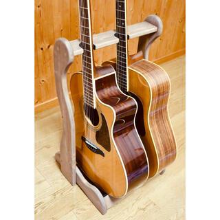 Gibson - 【24時間以内に発送】手作り木工 木製ギタースタンド (ウォールナット)