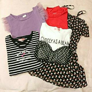 イングファースト(INGNI First)の女の子の服★5点セット★サイズ140(Tシャツ/カットソー)