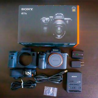 ソニー(SONY)のSONY α7 III ILCE-7M3 ボディ(バッテリーチャージャー付き)(ミラーレス一眼)