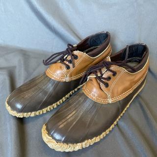 ソレル(SOREL)のサイズ9 カナダ製 ソレル ビーンブーツ ガムシューズ 定番色 ヴィンテージ(長靴/レインシューズ)