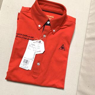 le coq sportif - 新品 未使用 ルコック ポロシャツ 半袖 赤