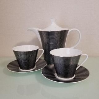 ニッコー(NIKKO)のコーヒーカップ ティーカップ ポット、ソーサー付き(食器)