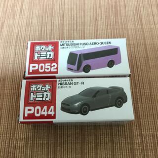 タイトー(TAITO)のポケットトミカ 2台セット エアロクィーン GT-R(ミニカー)