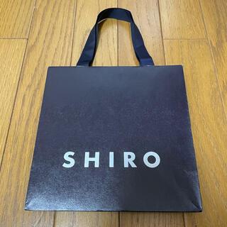 SHIRO シロ 紙袋 ショップ袋