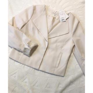 プロポーションボディドレッシング(PROPORTION BODY DRESSING)のプロポーション 春ジャケット 新品未使用タグ付き(テーラードジャケット)