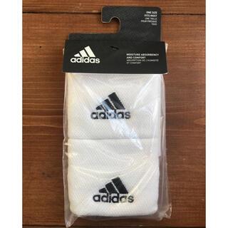アディダス(adidas)の【新品】アディダス テニス用リストバンド 白(その他)