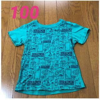 ユニクロ(UNIQLO)のTシャツ 100cm、ユニクロ、ドラえもん、緑色(Tシャツ/カットソー)