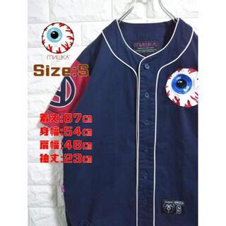 ミシカ(MISHKA)のミシカ ベースボールシャツ S SS1757(シャツ)