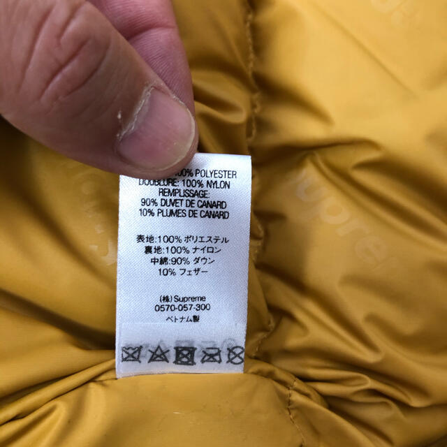 Supreme(シュプリーム)のSupreme GORE-TEX 700-Fill Down Parka L メンズのジャケット/アウター(ダウンジャケット)の商品写真