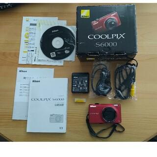 Nikon - Nikon COOLPIX S6000