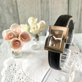 Christian Dior - 【電池交換済み】Christian Dior ディオール 腕時計 スクエア