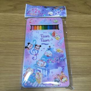 ディズニー(Disney)の新品 ディズニー ツムツム 12色 色鉛筆(色鉛筆)