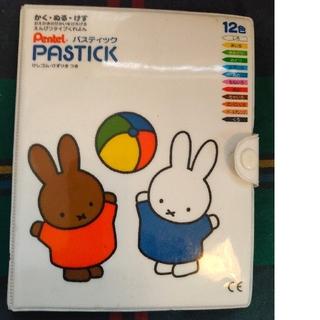 ペンテル(ぺんてる)のパスティック ミッフィー 12色(クレヨン/パステル)